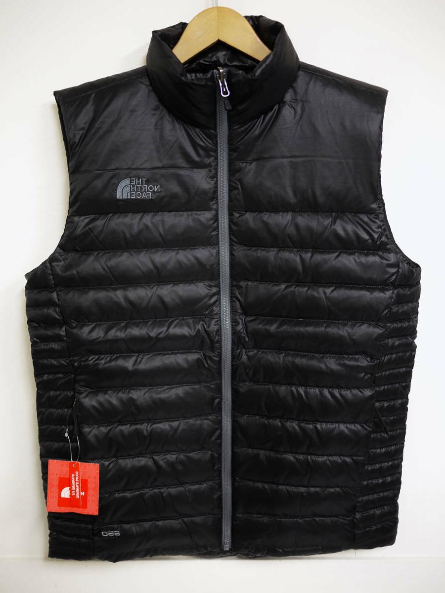 NWT Face Men's 550 RTO Ski Vest Black