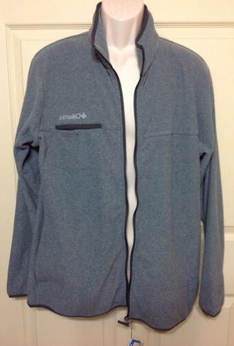 NWT COLUMBIA CREST ZIP GRAY