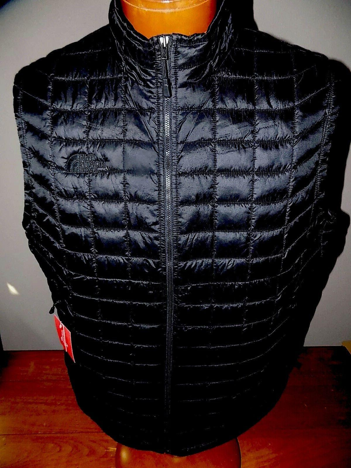 nwt men s thermoball vest black small