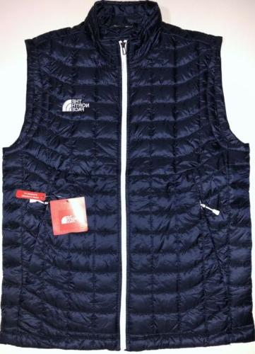 nwt men thermoball urban navy vest standard