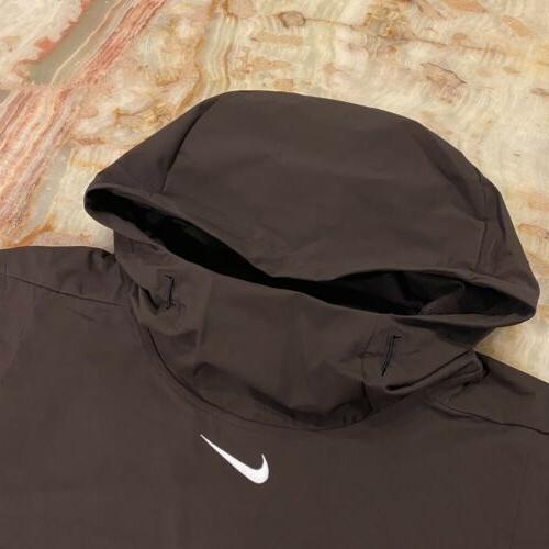 Nwt Mens Nike Football Alpha Hooded Tech L