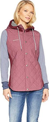 Columbia Pilsner Peak Vest, X-Large, Rich Wine Heather