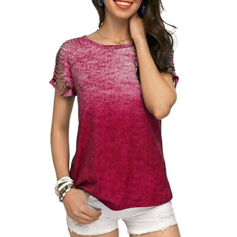 Plus Sleeve Loose T Tank Tops Baggy Tunic Tee