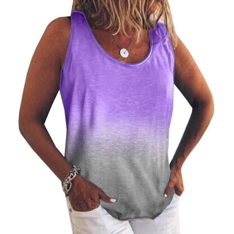 Plus Sleeve Tank Tops Tunic