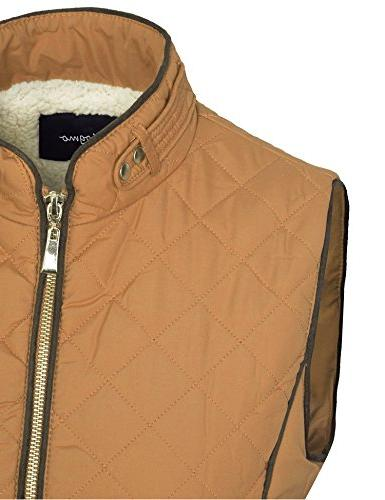 BOHENY Lined Lightweight Vest with -2X-CAMEL