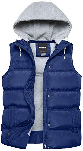 quilted padding puffer vest outwear