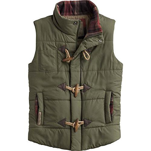 quilted vest army