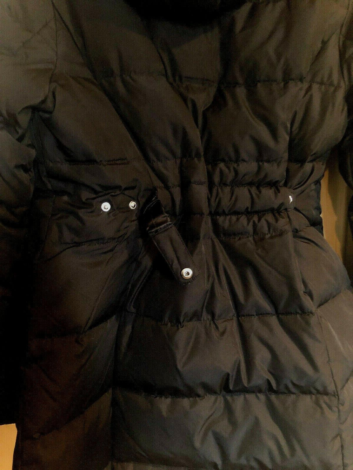 NWT $330. Down/Feather Black L