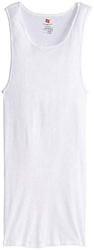 Hanes Men's Tall Man Ribbed Tank Top