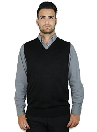 solid sweater vest