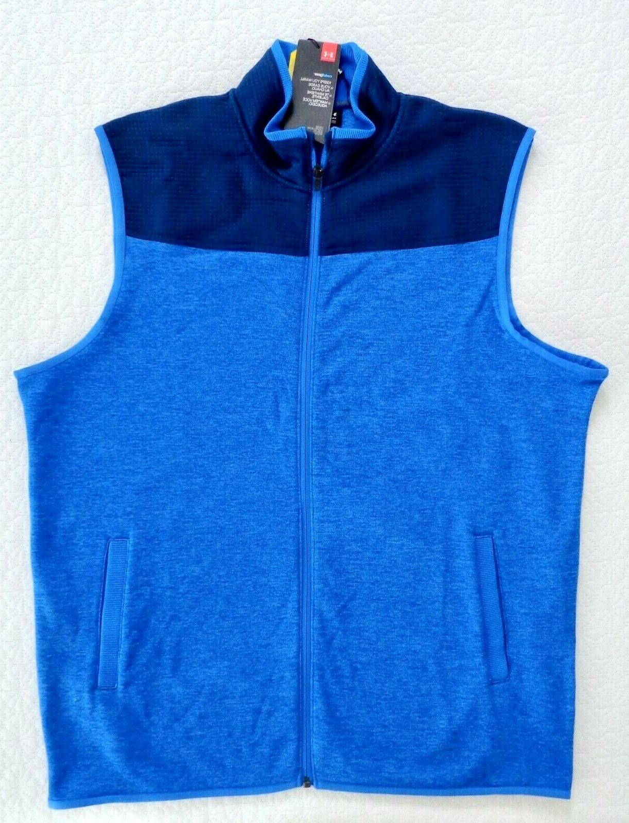Under Armour Cold Golf Vest #1307049-437 size Fit NWT