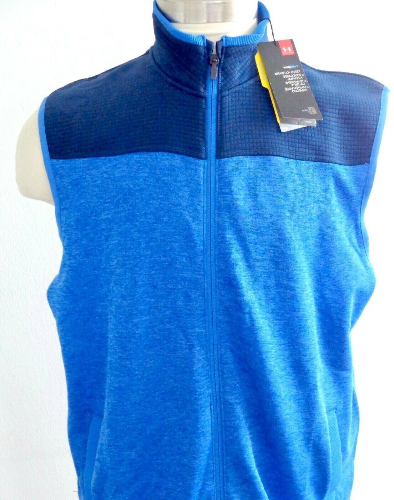 Under Cold Gear Golf Vest #1307049-437 size Loose Fit NWT