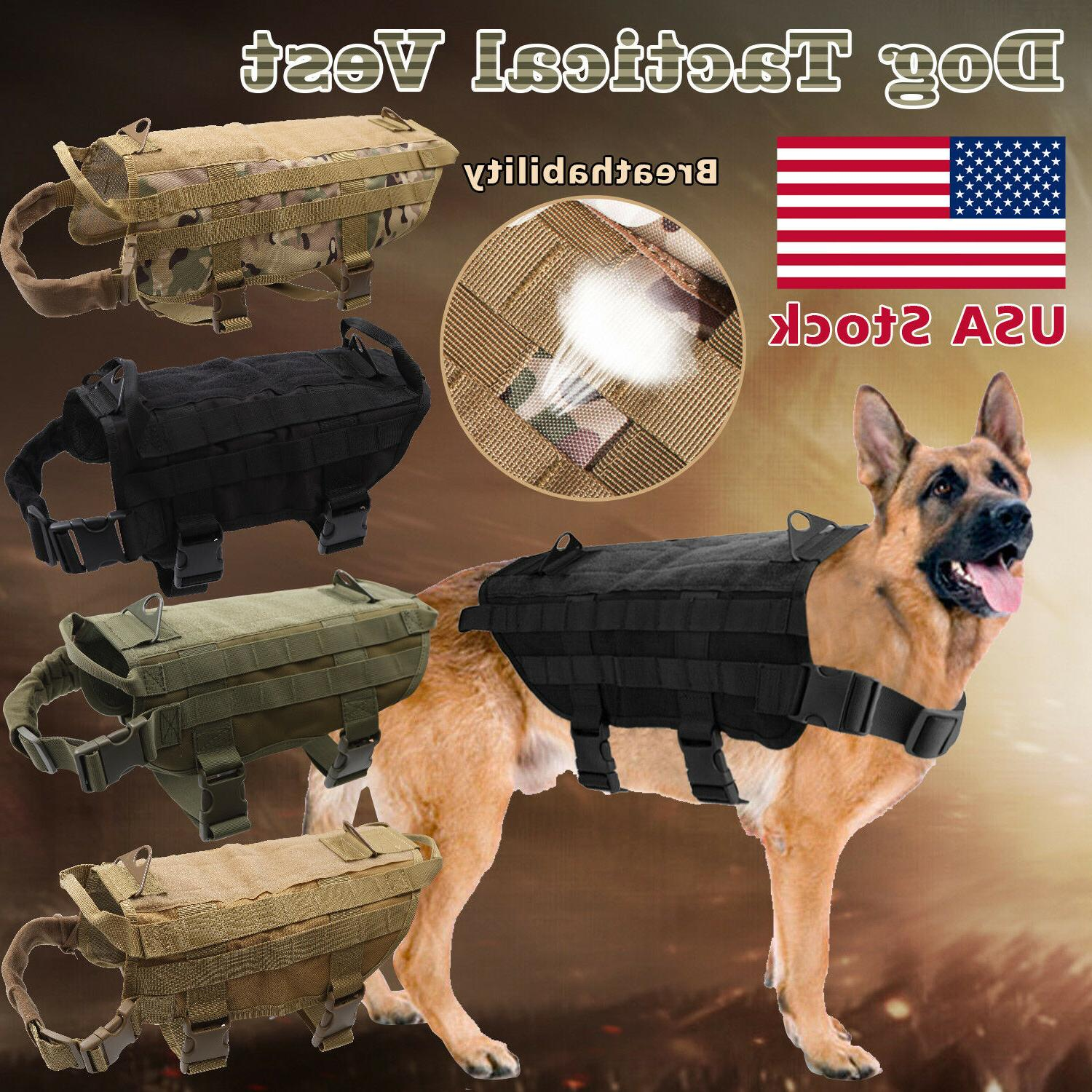 tactical police dog k9 military vest service