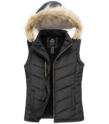 thicken vest quilted padding puffer