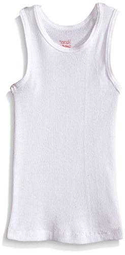 Hanes Toddler Boys 5-Pack Tank, White, 4T