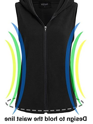 JayJay Women Fleece Sleeveless
