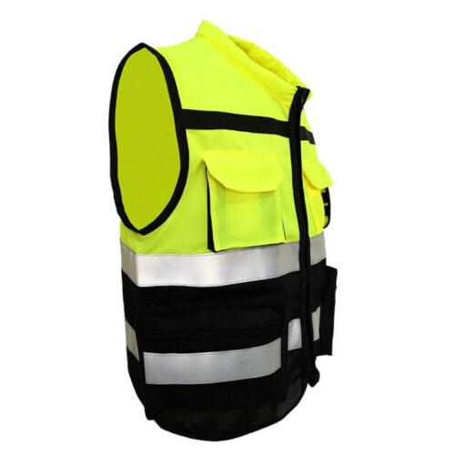 US Safety Reflective With Pocket