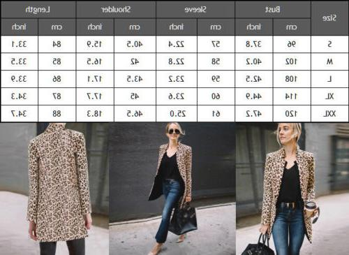 US Jacket Coats Lapel Suit Casual Tops Coat