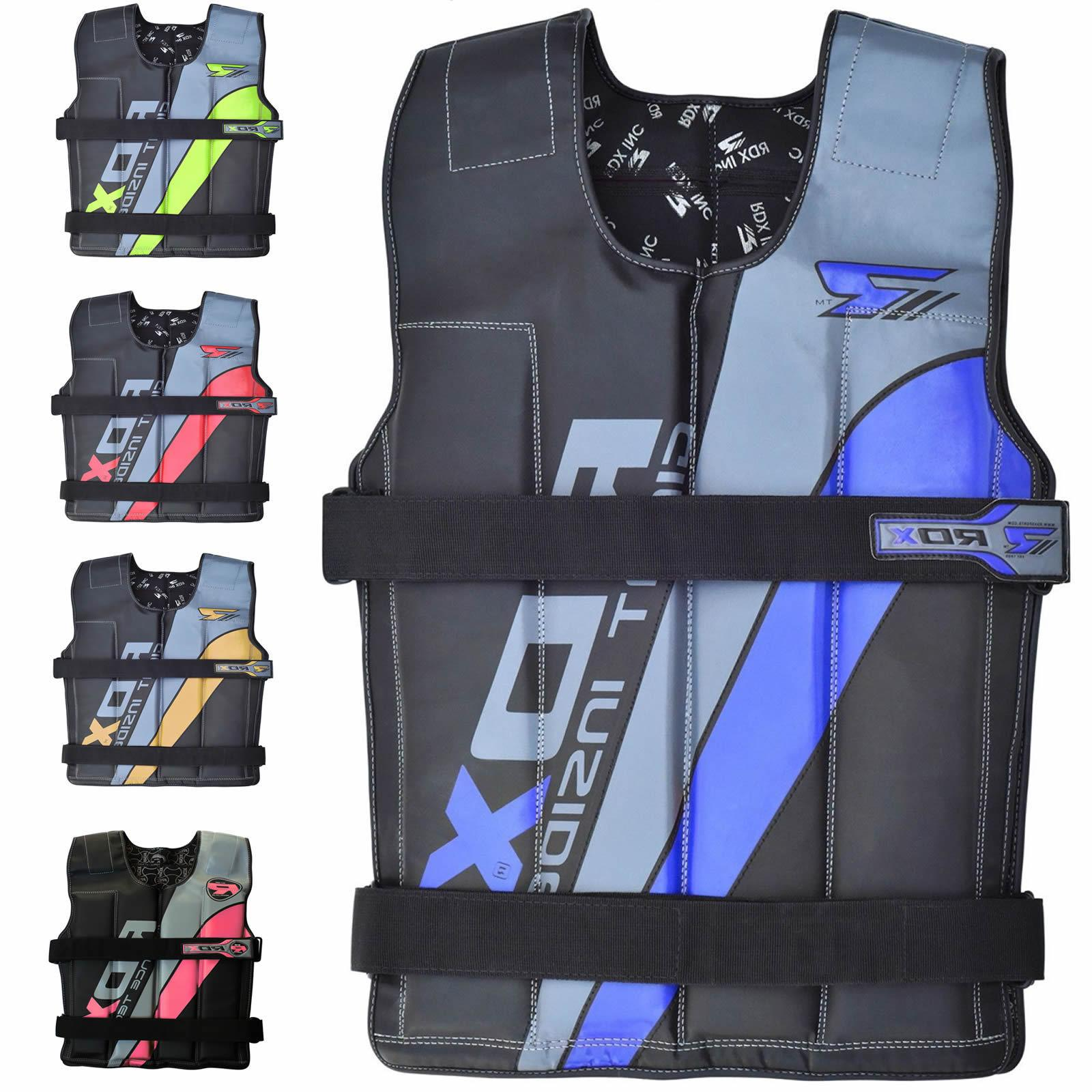 weighted weight vest adjustable training fitness workout