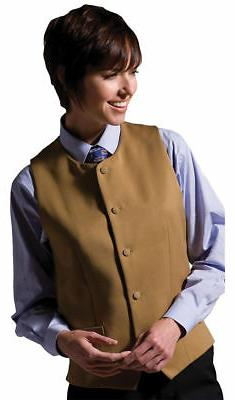 Edwards Garment Women's Classic Welt Pocket Polyester Vest.