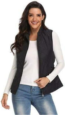 Argstar Women's Lightweight Outdoor Quilted Padded Vest with