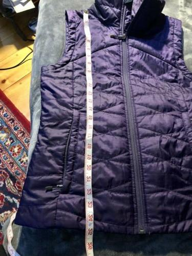 Columbia Women's Quilted Vest Insulated Packable Sz M