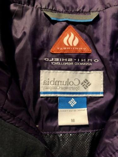 Columbia Omni-Heat Quilted Vest Insulated Sz