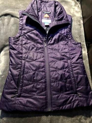 women s omni heat quilted vest insulated