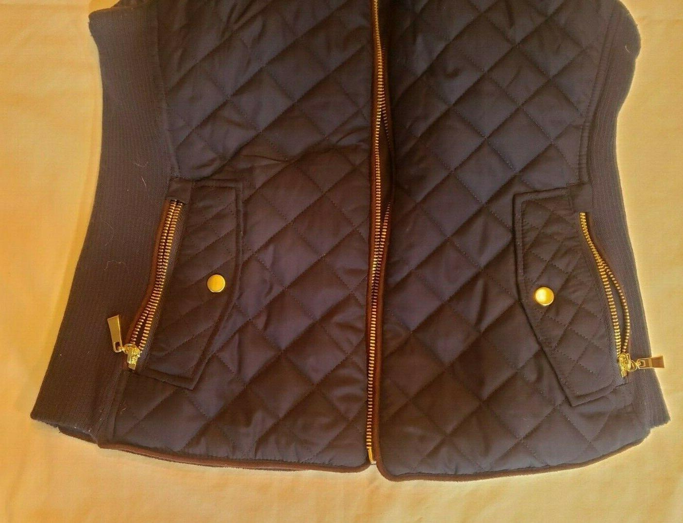 Women's Active USA Quilted Navy Full