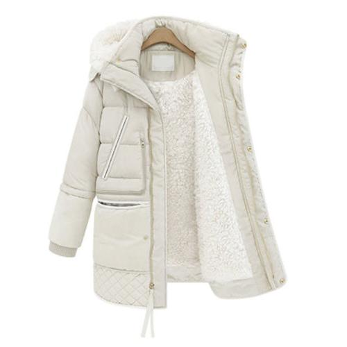 Women's Thick Jacket Long Fleece Coat