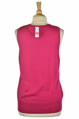 Old Navy Women Vest XL Pink