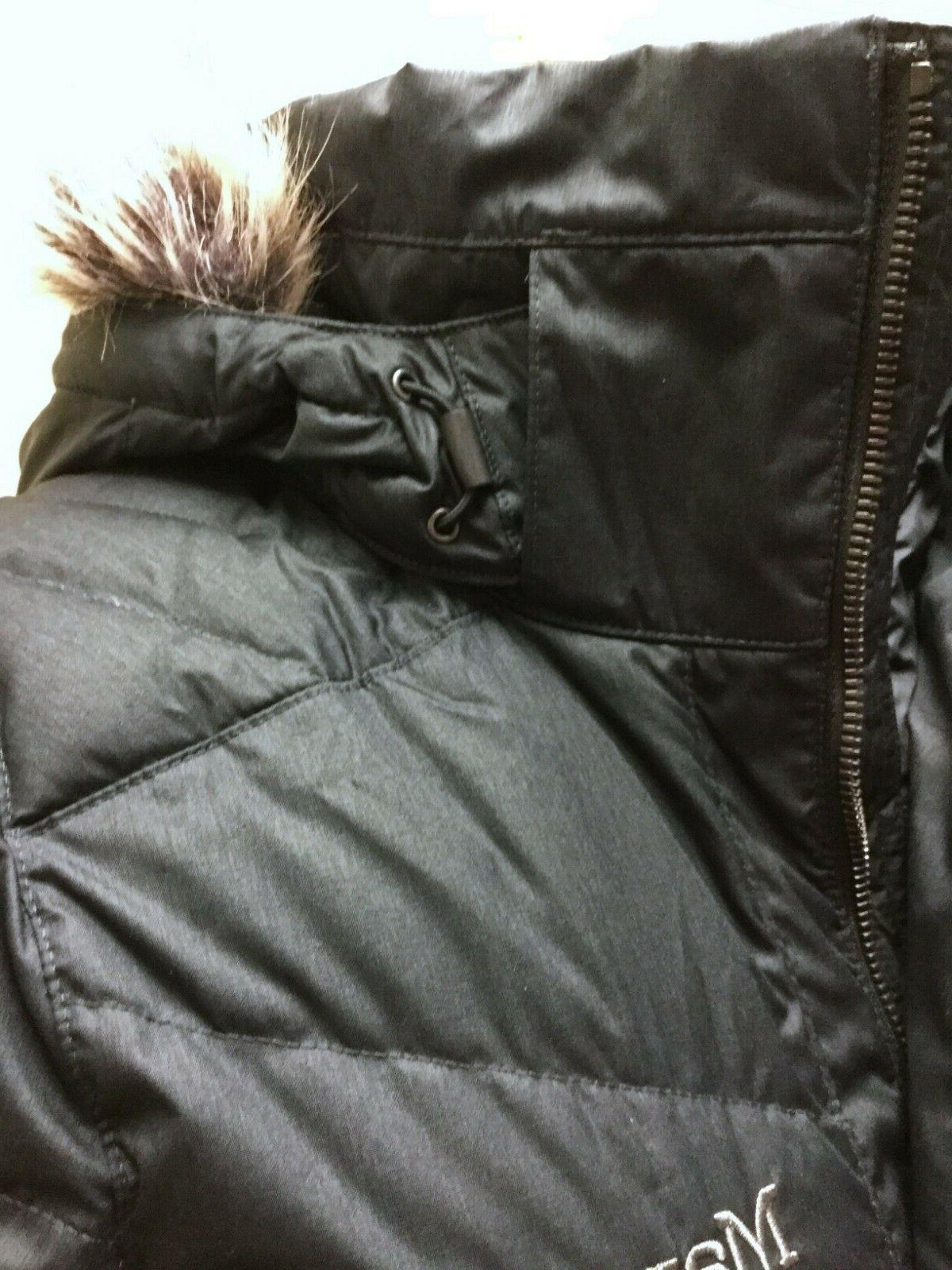 Marmot Hooded Long Down Parka Coat,