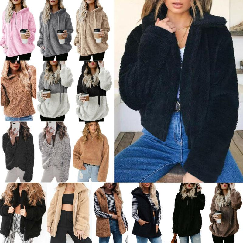 Women's Fur Teddy Bear Jacket