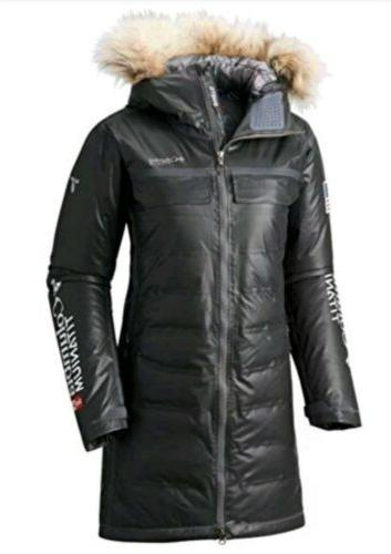 Columbia Women's Diamond Heatzone Long in Black M, Nwt