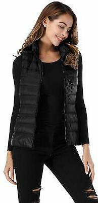 Sarin Packable Lightweight Vest Black, Size Small