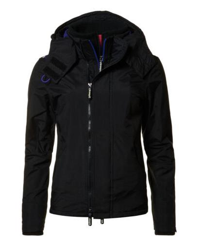 womens pop zip hooded arctic sd windcheater