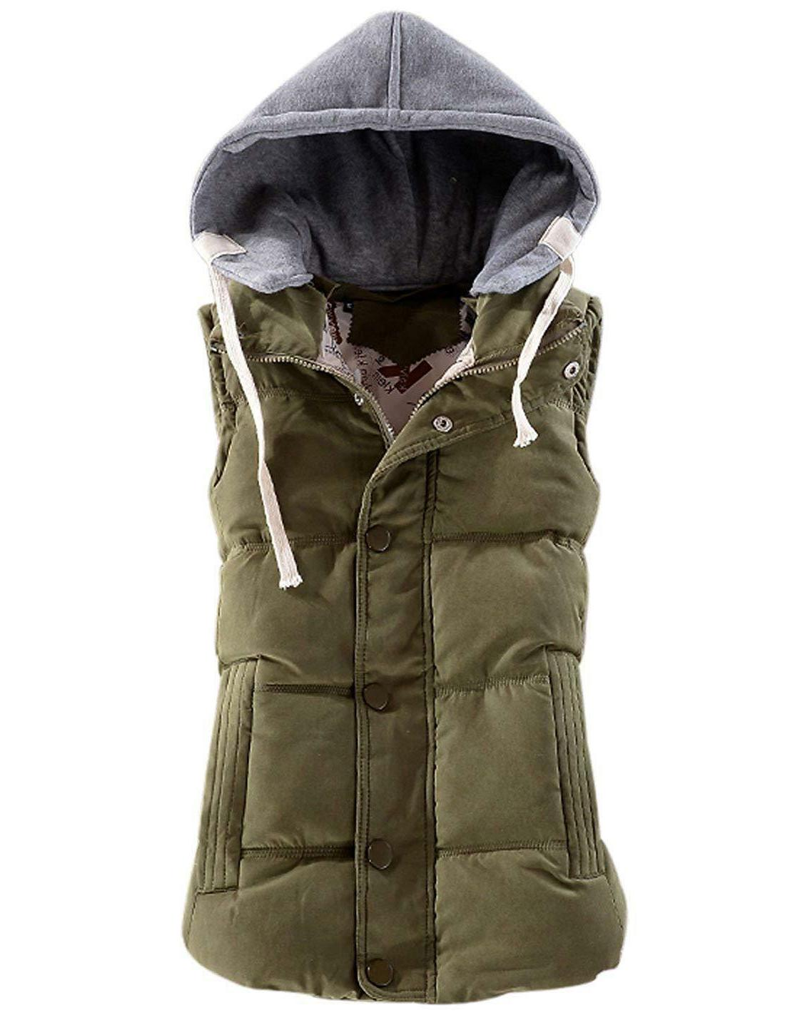 Yeokou Quilted Removable Puffer