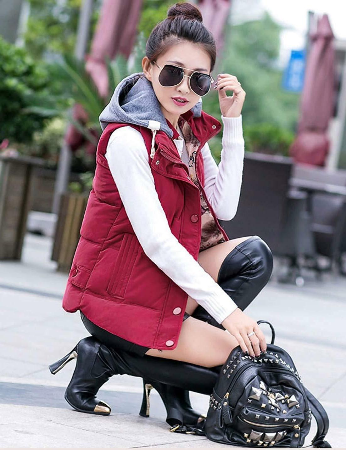 Quilted Hooded Winter Puffer