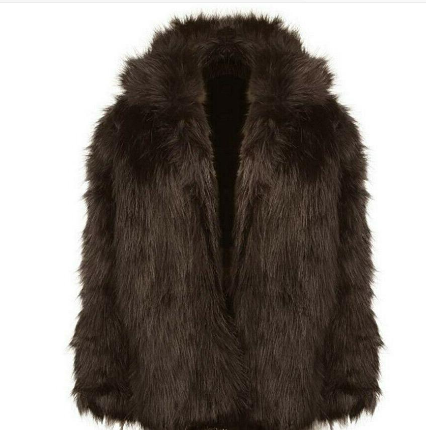 Zicac Faux Winter Fur Jacket Luxury Long Parka