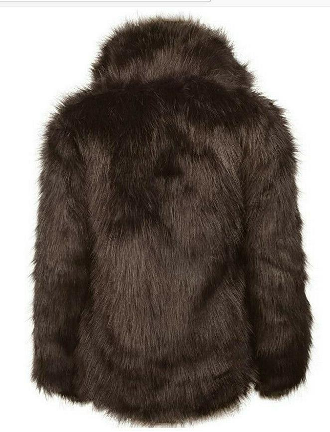 Zicac Fur Coat Winter Luxury Long