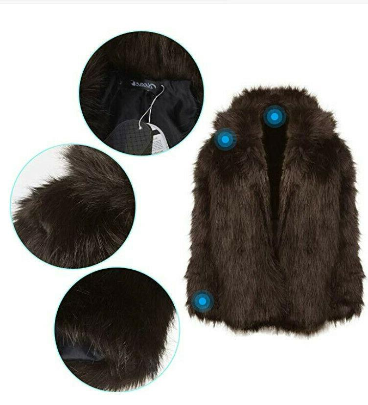 Zicac Winter Warm Fur Luxury Long Parka