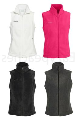 Columbia Womens Benton Springs Soft Fleece Vest, Size XS, S,