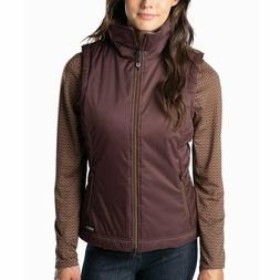 Kerrits® Ladies Bit of Puff Quilted Fig Vest 40652FIG