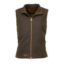 Outback Trading Company® Ladies Quilted Brown Vest 2177-BNZ