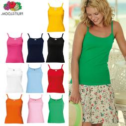 Fruit of the Loom Lady-fit Strap Tee - Women's Cotton Vest C
