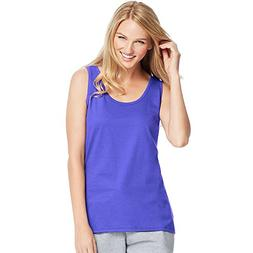Hanes by Womens Live. Love. Color Scoop Neck Tank 9002_Petal