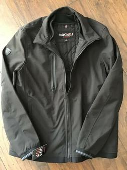 London by London Fog Men's Soft Shell 3 in 1 Jacket with Rem