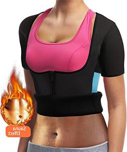 Weight Loss Sauna Tops,Neoprene Thermo Workout Slimming Body