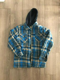 Legendary Whitetails Maplewood Hooded Flannel Shirt Jacket
