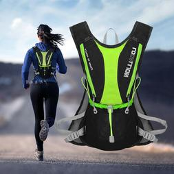 Marathon Vest Style Water Bag Polyester Hydration Backpack R